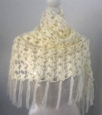 Mariage - Bridal Shrug // Bridal Bolero // Shawl // Winter accessories // Wedding //Bride accessories // Bridal Bolero // Crochet Shawl