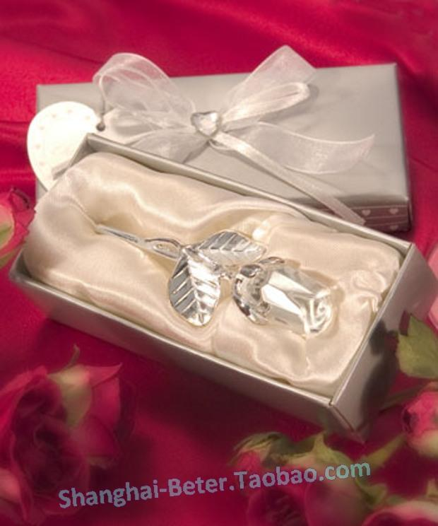 Wedding - Valentine's Party BETER-SJ016/A Crystal Long Stem Rose Presents