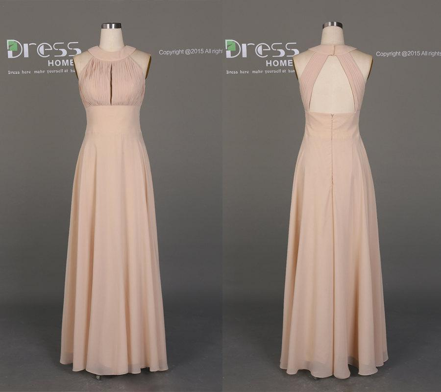 Champagne Prom Dress Slim
