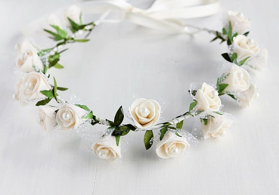 Cream Rose Crown 836835eebbf