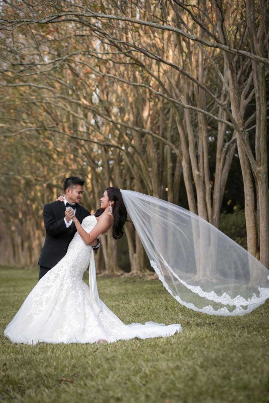 Mariage - Gorgeous Lace Wedding Veil