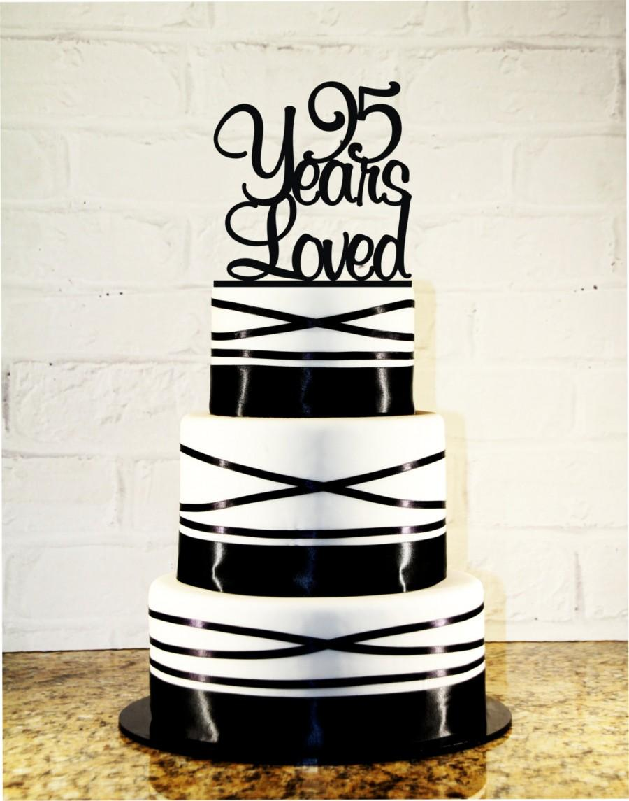 95th Birthday Cake Topper