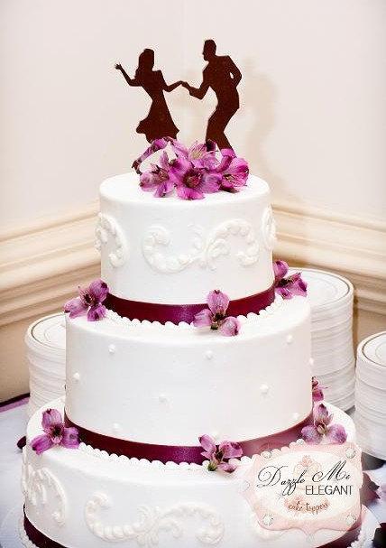 Swing Dancing Cake Topper Dance Cake Topper Wedding Cake Topper