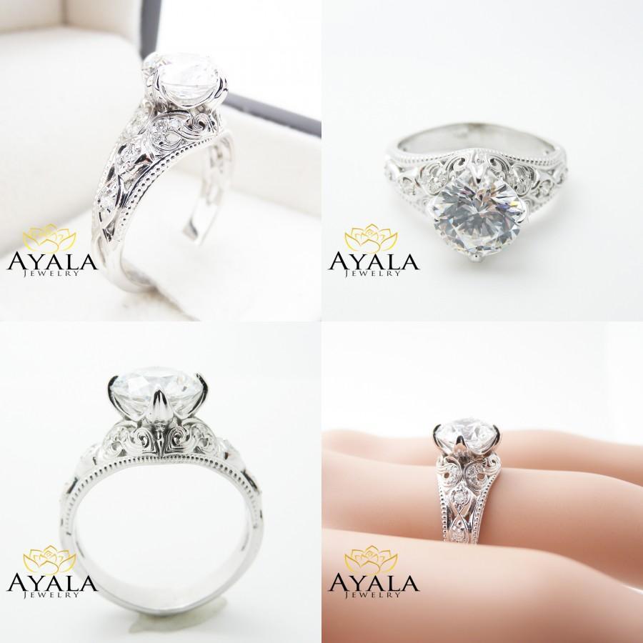 Свадьба - 2 Carat Diamond Ring