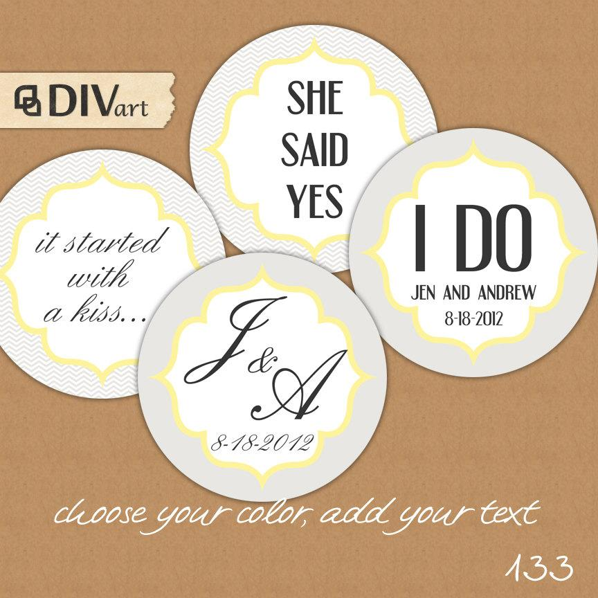 graphic about Printable Wedding Favor Tags identify PRINTABLE 2\