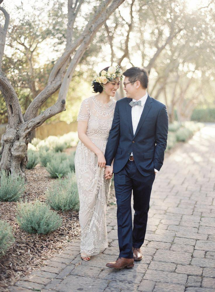 Wedding - Golden Light Elopement At San Ysidro Ranch