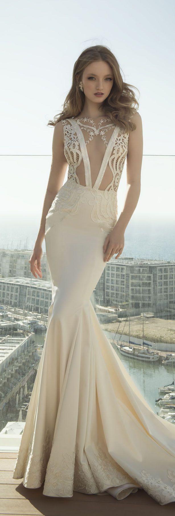 Wedding - Dany Mizrachi 2016 Wedding Dress - Belle The Magazine