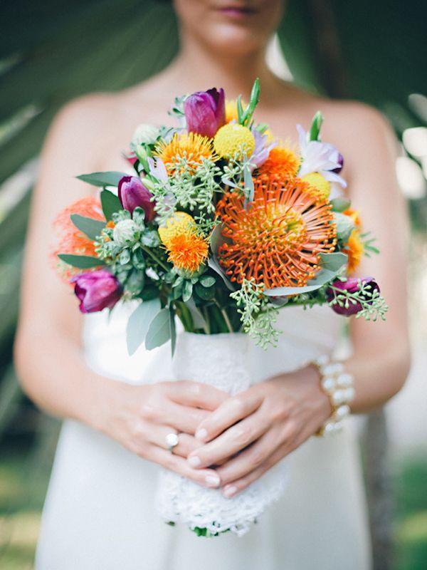 Свадьба - Dark Pink Bouquets