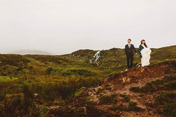 Hochzeit - This Wild Isle Of Skye Elopement Proves That Location Is Everything