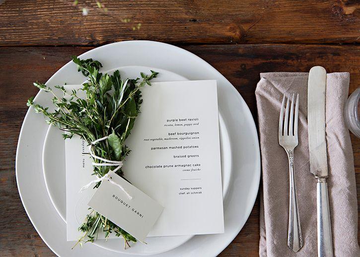 Mariage - Sunday Supper, Winter Dinner