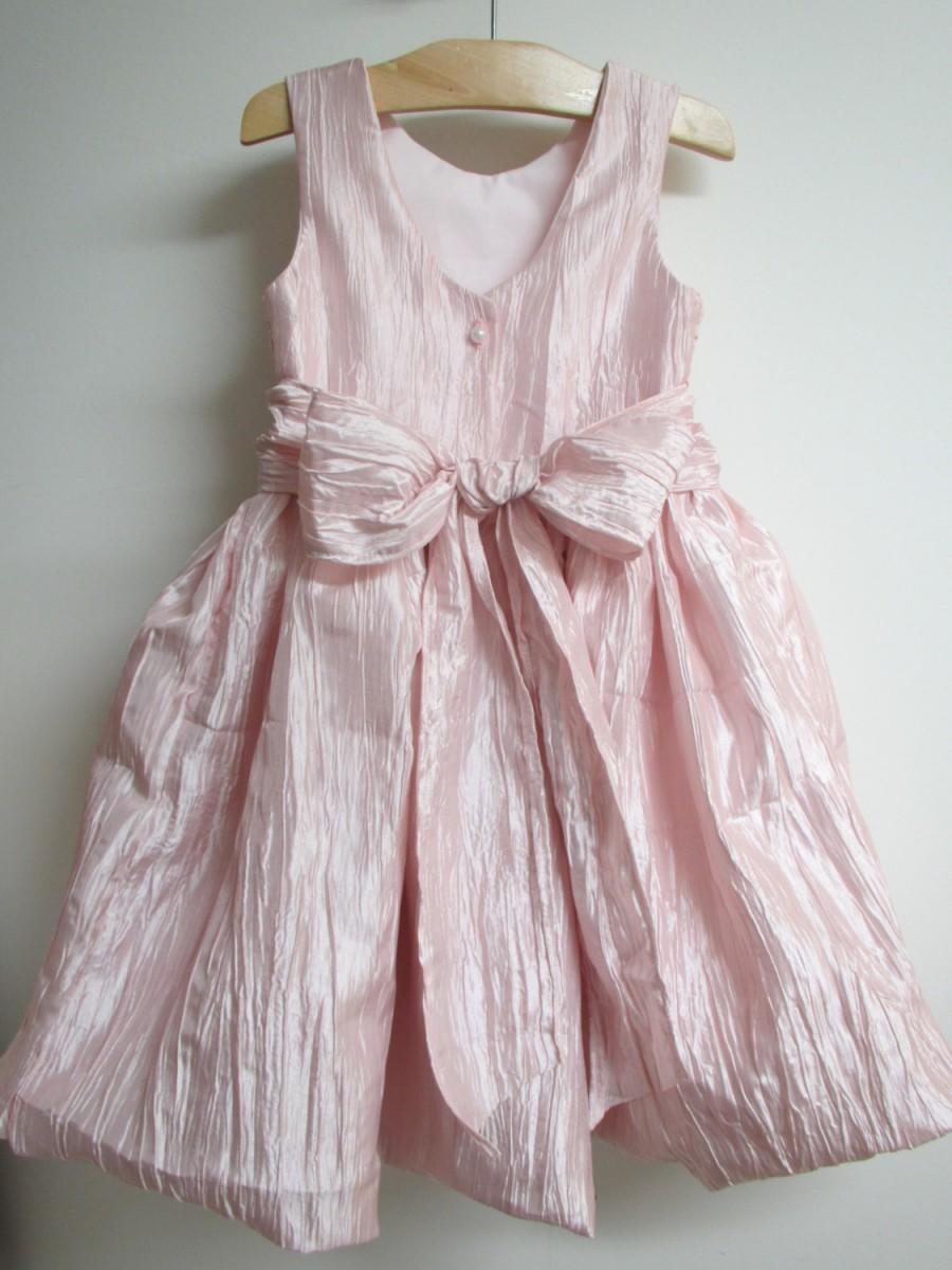 زفاف - 84 in April * Annual Sale * Crushed Taffeta and Anais Lace * Flower Girl Dress * Custom made * Handmade in USA