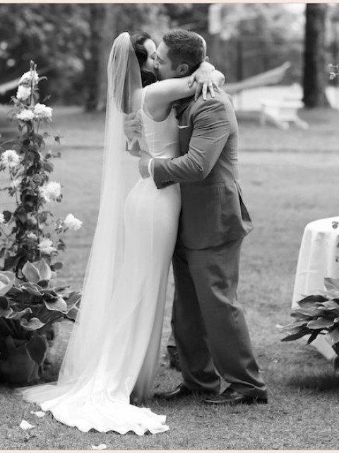 زفاف - Ankle length long wedding bridal veil, ivory, white, diamond white READY TO SHIP