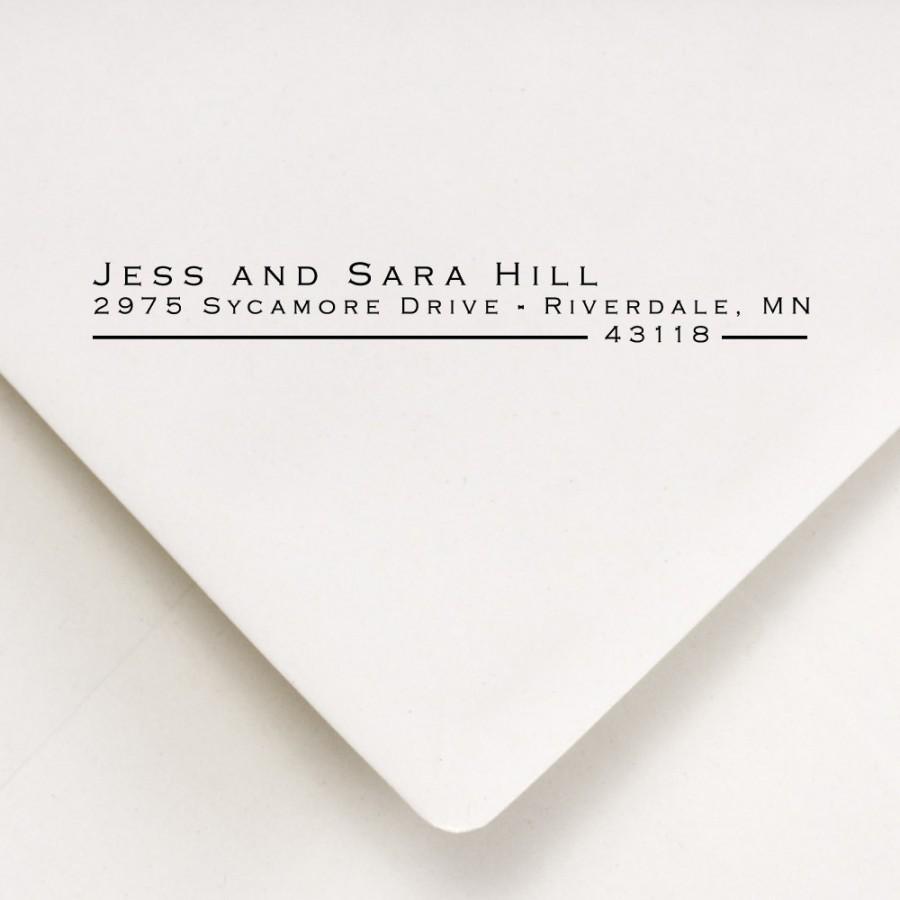 زفاف - Return Address Stamp - Custom Address Stamp - Personalized Stamp - Self Inking Stamp - Wedding Stamp - Gift - Jess and Sara Design