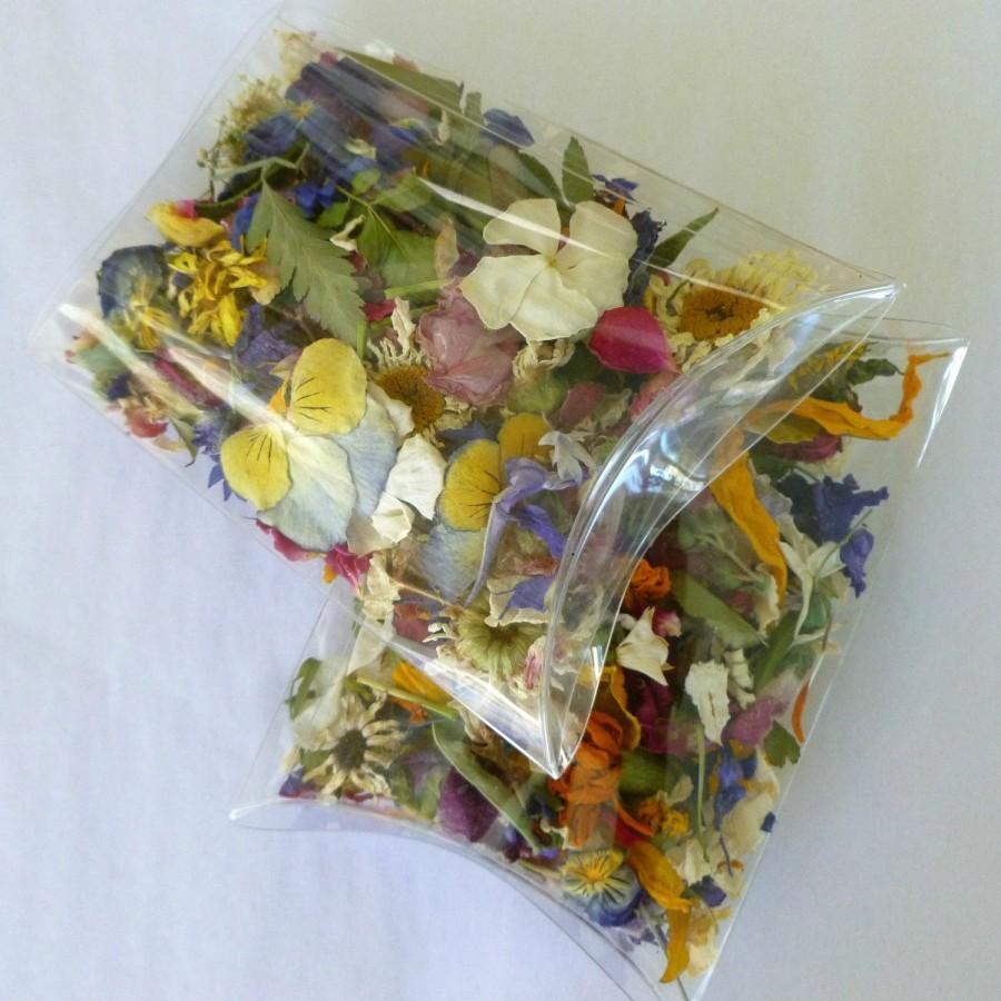 Dried Flowers Flower Petals Confetti Wedding Gift Potpourri Pillow Box Favor Tossing