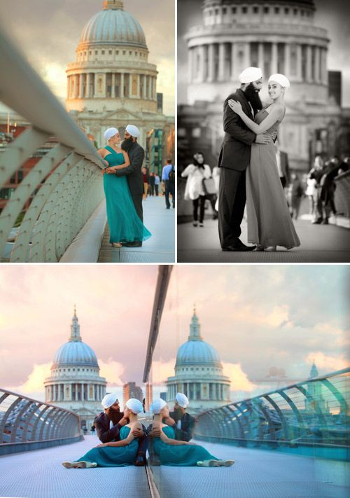 Mariage - Downtown London Engagement Shoot From Chris   Lynn
