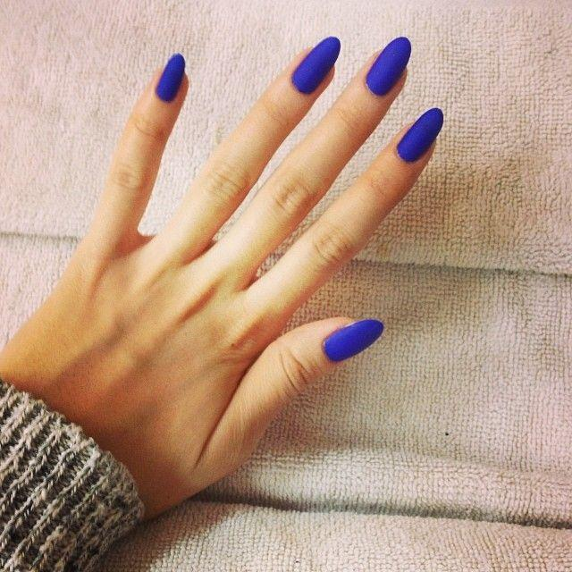 Wedding - Fall 2014 Nail Trend: Matte Nails