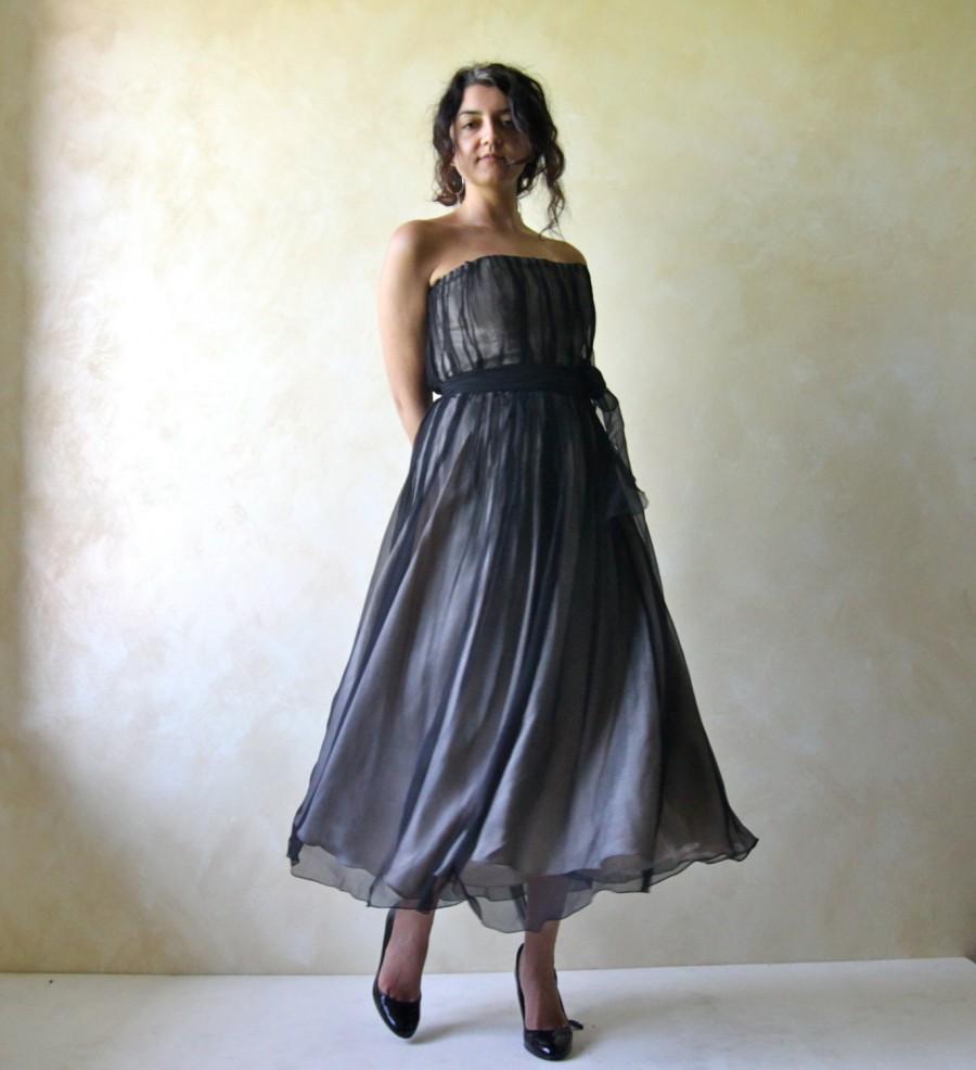 2019 year look- Wedding alternative dresses black photo