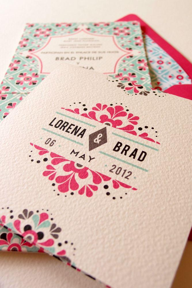 Mexican Wedding Invitations Lizzy B Loves