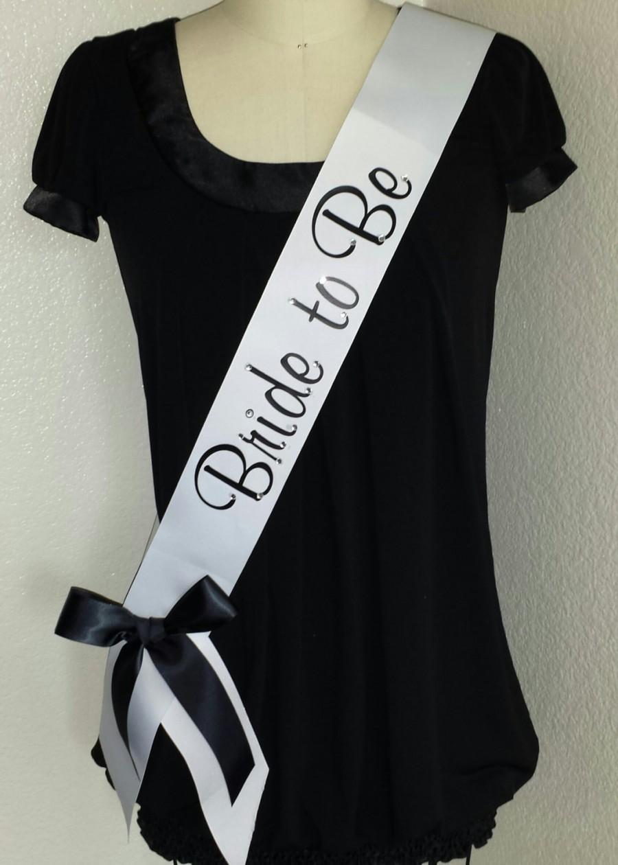 Mariage - Bride to Be, Bachelorette, Future Mrs Sash