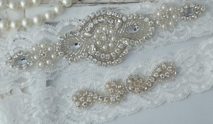 how to make a vintage wedding garter