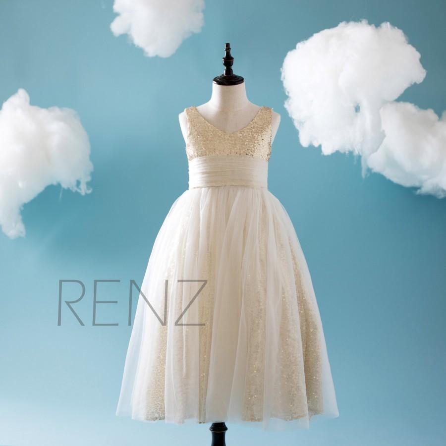 fd9df868798 2016 Off White Soft Tulle Junior Bridesmaid Dress Long