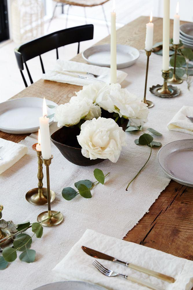 Mariage - Get Inspired By A Cool Neutral Summer Dinner Party
