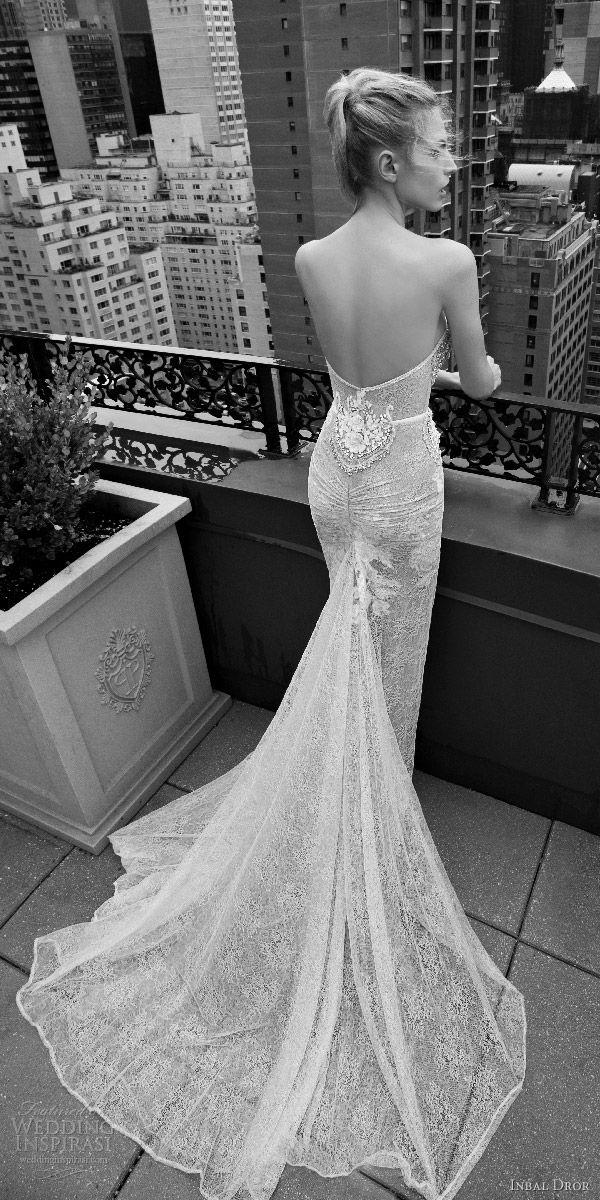 "Свадьба - Inbal Dror Fall Wedding Dresses 2016 ""New York"" Colletion"