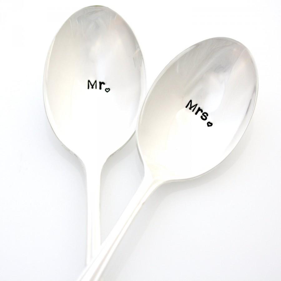Mr And Mrs Spoons Hand St&ed Silverware. Custom Table Setting ... Mr And Mrs Spoons Hand St&ed Silverware Custom Table Setting  sc 1 st  Best Image Engine & Excellent Silverware Table Setting Photos - Best Image Engine ...