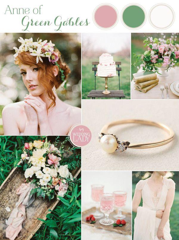 Wedding - Modern Anne Of Green Gables Wedding Inspiration