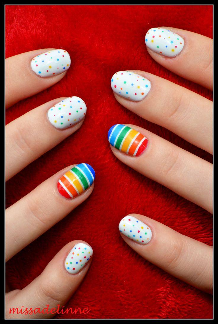 Свадьба - Missadelinne: Colourful Dots And Stripes