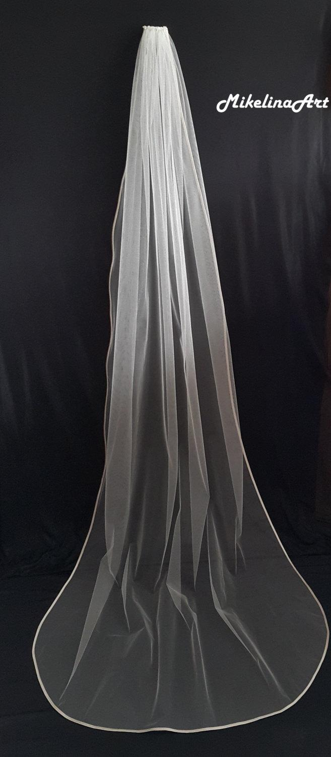Mariage - Cathedral Veil, Ivory