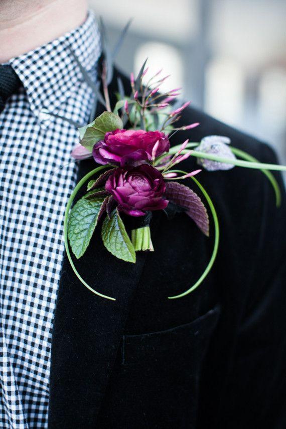 Свадьба - Industrial Modern Winter Wedding Inspiration