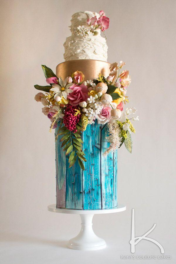 Mariage - Cake Decorating Trends From Chrissie Boon