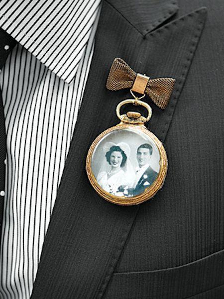 Hochzeit - Boutonniere Inspiration