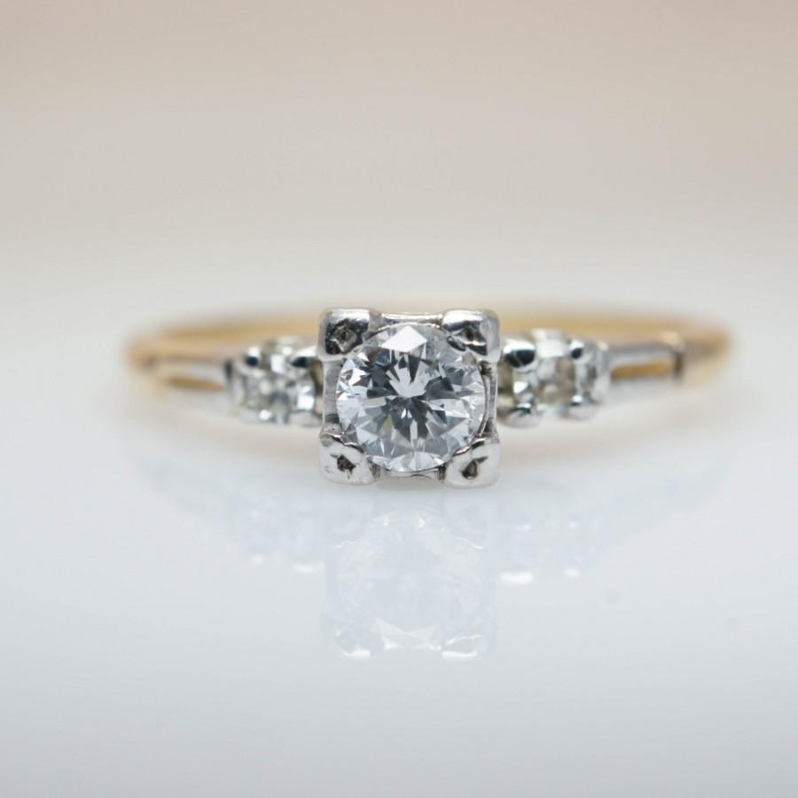 engagement rose ring dainty proposal diamond gold rings and