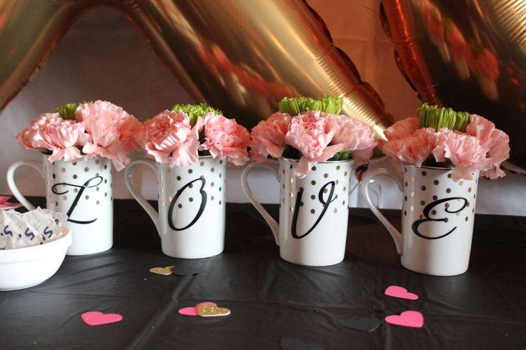 kate spade shower party ideas