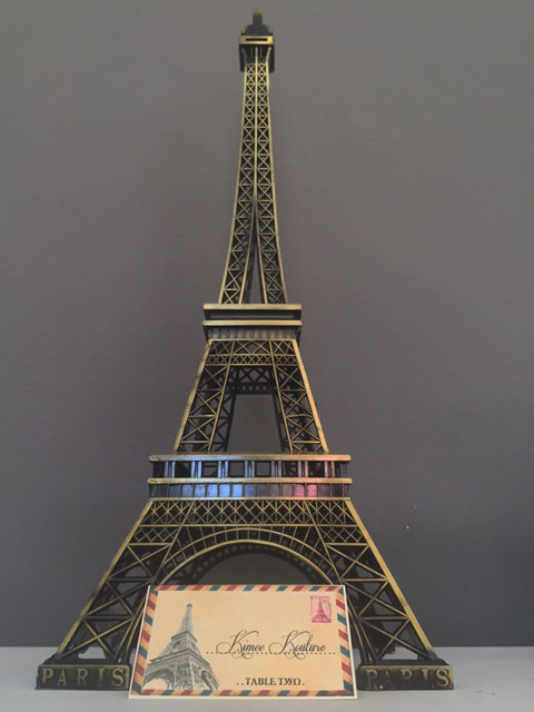 Eiffel Tower Centerpiece. Parisians Theme Decor. Paris Wedding Decor ...