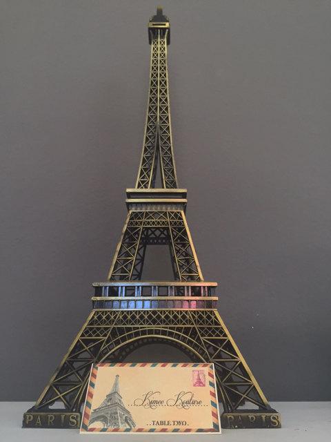 Eiffel Tower Centerpiece Parisians Theme Decor Paris Wedding Decor