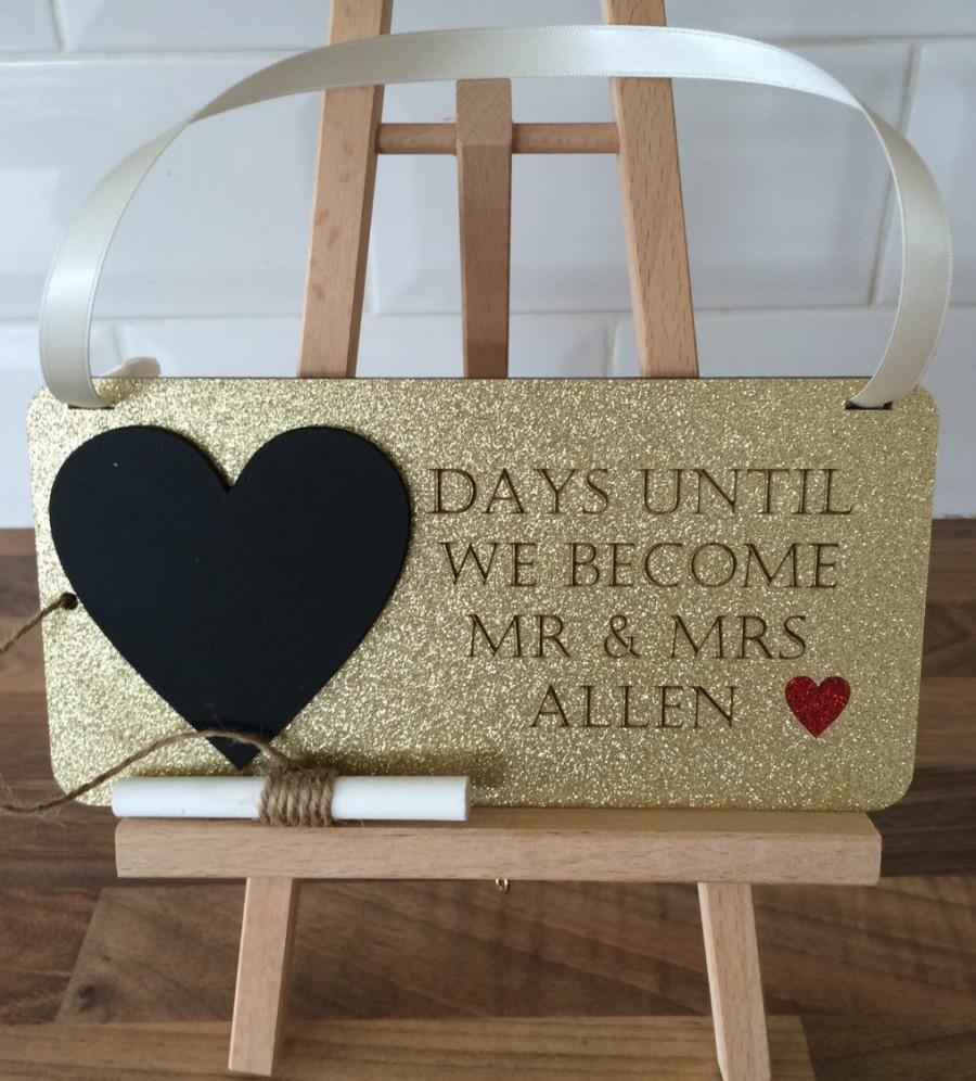 زفاف - Days until we become mr & mrs