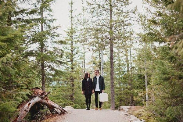 Wedding - The View In This Sea To Sky Gondola Engagement Is Almost As Amazing As The Couple