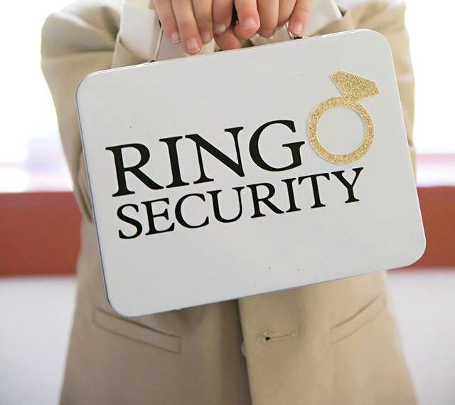 ring security box ring bearer alternative complete With ring security box for wedding