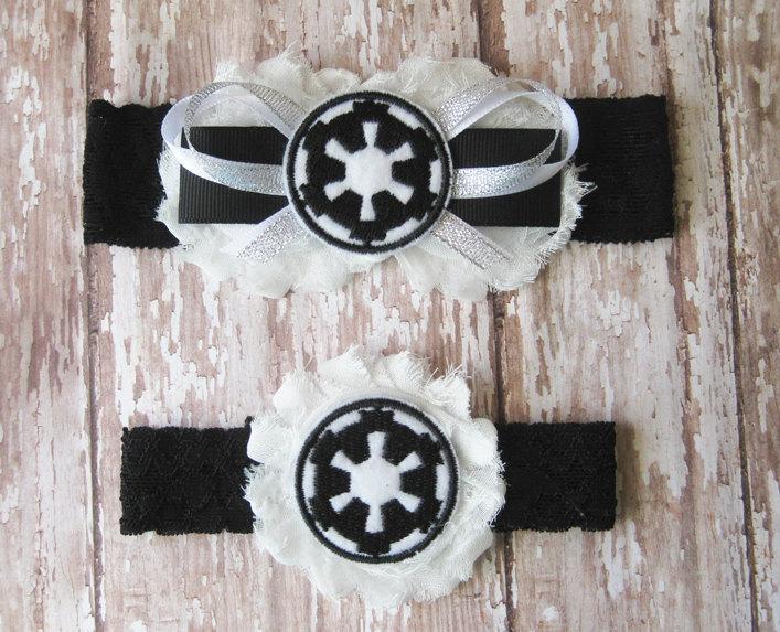Hochzeit - Galactic Empire Star Wars Garter Set