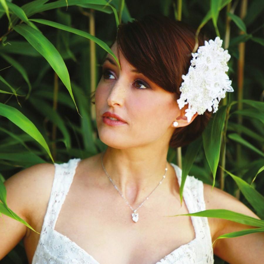 Свадьба - Lace Bridal Headpiece