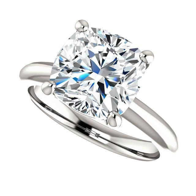 Mariage - Forever Brilliant Moissanite Engagement Ring