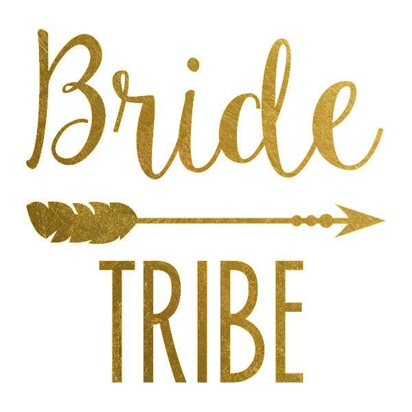 Accessories Gold Bride Tribe Temporary Tattoos 2496642