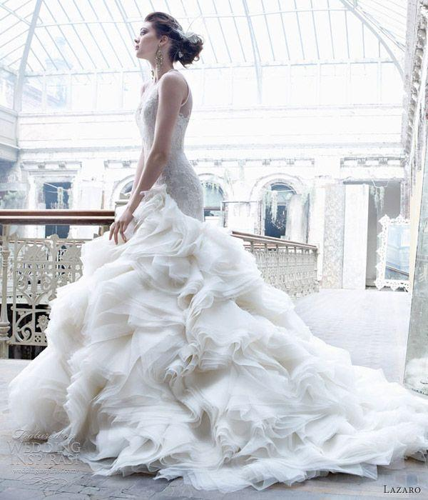Mariage - Lazaro Fall 2012 Wedding Dresses