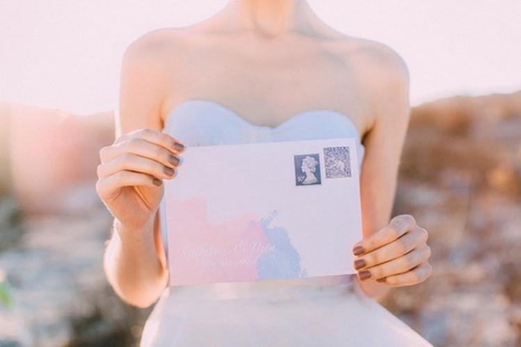 Boda - Modern Rose Quartz and Serenity Wedding Photo Shoot