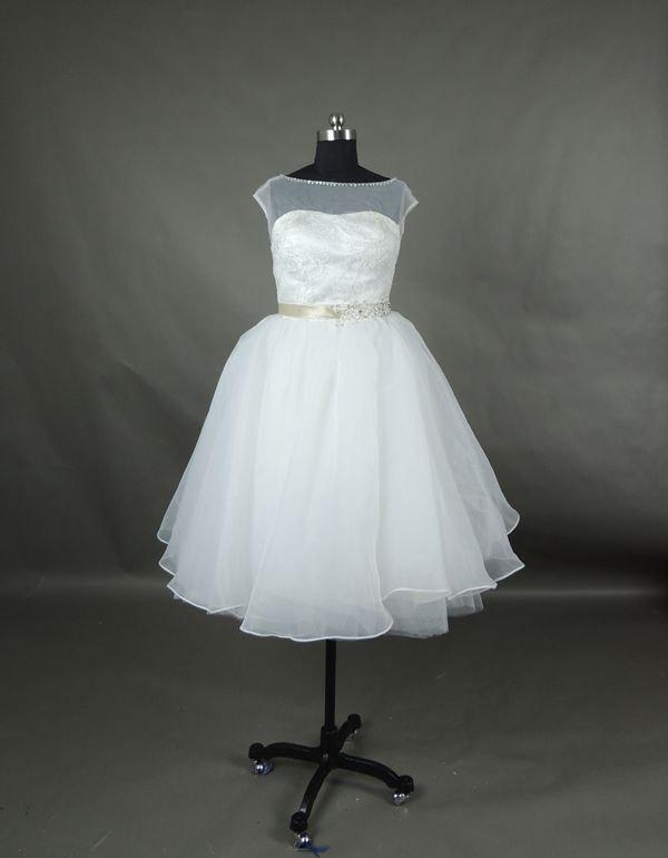 زفاف - Affordable Lovely White Sweetheart Short wedding dresses bridal gowns,Bridal dress,Simple White wedding reception dress,Beach wedding dress