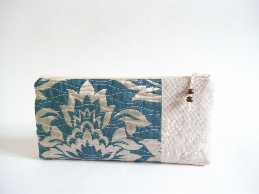 Свадьба - Celadon Green Clutch, Bridal Wedding Purse, Mother of the Bride Gift, Mother of the Groom Gift