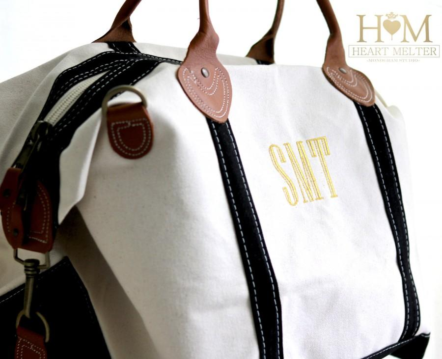Weekender Duffle Bag Monogrammed